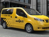 Nissan NV200 Selected for NYC Taxi Fleet