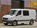 <p>The 2011-MY Mercedes-Benz Sprinter Crew Van.</p>