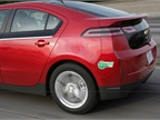 <p>Chevrolet Volt with clean air sticker</p>