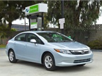 <p>The 2012-MY Civic Natural Gas, formerly the Civic GX.</p>