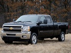 <p>The bi-fuel 2013-MY Chevrolet Silverado HD.</p>