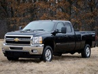 <p><em>(Photo by James Fassinger for Chevrolet)</em></p> <p>The 2013 bi-fuel Chevrolet Silverado includes a compressed natural gas (CNG) capable engine that transitions between CNG and gas fuel systems. The bi-fuel Silverado will be covered by General Motors' extensive warranty, and will meet all EPA and CARB emission certification requirements.</p>