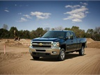 <p>The 2013 Chevrolet Silverado HD bi-fuel pickup.</p>
