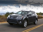 <p>The 2013-MY Toyota RAV4 starts at an MSRP of $23,300. Photo courtesy Toyota.</p>