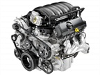 <p>The 2014 GMC Sierra comes standard with a 4.3L EcoTec V-6, which gets 305 lb.-ft. of torque and 285 hp.</p>