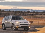 <p>The 2014 Mitsubishi Outlander SE grade. Photo courtesy Mitsubishi.</p>
