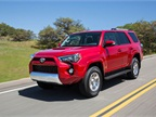 <p>Toyota said it redesigned the 4Runner's front fascia to give it a more aggressive appearance for MY-2014. Photo courtesy Toyota.</p>