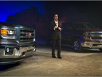 <p>The automaker's President of GM North America Mark Reuss presented the new vehicles.</p>