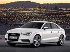 <p>Audi offers a new design, new powertrain options, and a range of technology updates in its 2015 A3 Sedan. Photo courtesy Audi of America.</p>