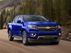Photo of the 2017 Colorado courtesy of Chevrolet.