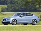 <p>The 2013-MY BMW 3 Series ActiveHybrid 3 sedan.</p>
