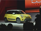 <p><em>Photo by Greg Basich</em><br />The Fiat500L Trekking.</p>