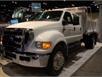 <p>A CNG-fueled Ford F-650 the automaker brought to the ATD show in Las Vegas.</p>