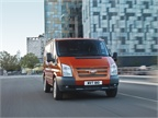 <p>The European version of the Ford Transit van. Pictured is the short wheelbase model.</p>