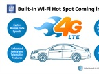 <p>GM is working with AT&T to add 4G LTE WiFi hotspots to its 2015 model-year vehicles.</p>