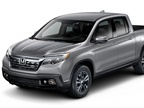 Photo of 2018 Ridgeline Sport courtesy of Honda.