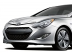 <p>The 2013 Hyundai Sonata Hybrid.</p>