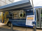 "<p>The new mobile units feature a new portability set-up that allows dealers to remove the ""auction in the box"" unit from the vehicle and facilitate an auction anywhere there is demand. (PHOTO: Manheim)</p>"
