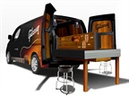 <p>NV200 Compact Cargo van upfitted as the Gibson Mobile Repair & Restoration Van.</p>