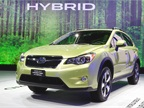 <p>The 2014 Subaru XV Crosstrek Hybrid has a 2.0L Boxer engine matched with a hybrid drive (battery and electric motor) and a continuously variable transmission. Photo courtesy Subaru.</p>