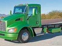 Kenworth Unveils Class 6 Hybrid Truck