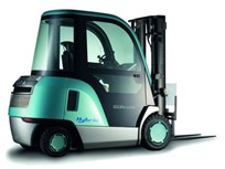 Toyota Debuts Hybrid Lift Truck Lift Truck