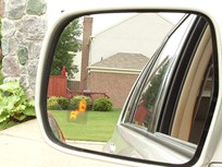 Business Fleet Editors Test Blind-Spot System