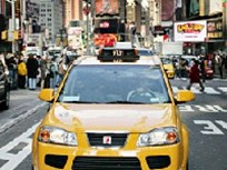 GM Puts Hybrid Taxi on the Road in NYC