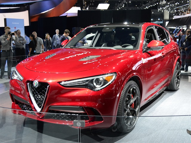 alfa romeo stelvio 2016 l a auto show suvs photo. Black Bedroom Furniture Sets. Home Design Ideas