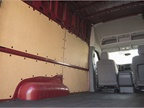 The interior space can be configured various jobs.