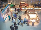 Technical displays were part of the Ford Rouge Center plant tour.