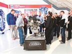 During lunch, attendees learned more about the technology underneath