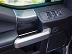 Beltline armrest on front doors: The beltline on the front doors is