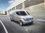 The Vision Van would provide more efficient last-mile delivery.