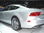 Audi A7, which won Motor Press Guild s  Vehicle of the Year  award for