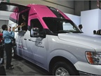 Nissan NV food truck concept used by Coolhause, a local L.A. brand