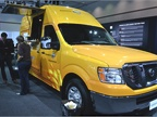 Nissan NV food truck concept used by the The Grilled Cheese truck, an