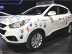 Hyundai Tucson Fuel Cell Electric Vehicle