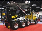 Caterpillar diesel-powered CT660 dump truck.