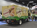Schwan s Food Service truck by Isuzu Commercial Truck of America.