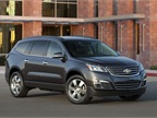 GM s new Chevrolet Traverse features a new exterior design, new