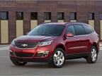 The new 2013-MY Chevrolet Traverse features a redesigned exterior.