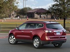 The new Traverse features improved shift characteristics.