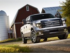 The F-150 offers new HID headlamps.