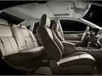 The Altima s interior is available in leather.