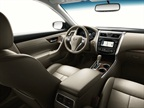 Nissan said it upgraded the interior for the 2013 model-year, with