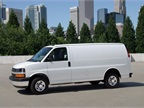The 2014-MY Chevrolet Express 2500 cargo van comes standard with a