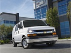 Other features available on the Chevrolet Express crew cargo van