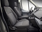 The largest version of the Ford Transit can carry up to 15 passengers.