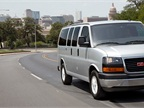 The passenger version of the GMC Savana 1500 seats up to eight